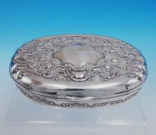 Florentine by Tiffany and Co Sterling Silver Jewelry Box #12782/2369 (#3370)