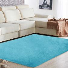 Super Fluffy Rug Soft Long Plush Bedside Silky Anti-Skid Mat Carpet Rugs Area