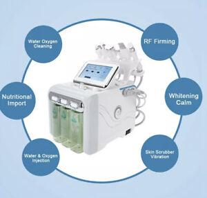 6in1 Wasser Dermabrasion Tiefenreinigung Hydro Facial Hydra Anti Falten Maschine