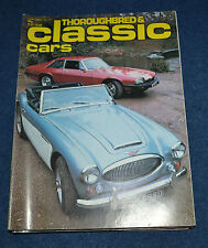 Thoroughbred & Classic Cars January 1977 buying a Sprite or MG Midget, XJ-S,