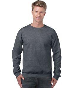 Plain High Quality Gildan Sweat Shirt Windcheater Sm to Big Mens 5XL Plus sizes