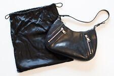 Authentic YSL Yves Saint Laurent Hand Bag Black Leather NWOT