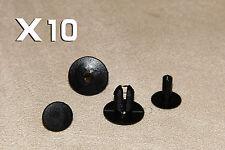 8mm MERCEDES BENZ Plastic Clips Rivets- Interior Trim Panels, Carpet & Linings