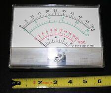 "Mercer Electronics Big Volt Meter SK525-1160E Panel Meter 4-1/4"" X 6"""