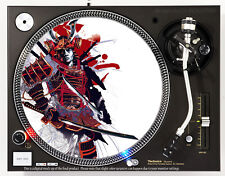 SAMURAI WARRIOR - DJ SLIPMAT 1200's or any turntable, record player