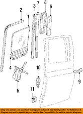 GM OEM Glass-Rear Door-Handle Left 15597655