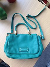 Marc by Marc Jacobs Too Hot to Handle emerald green leather tote