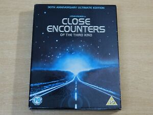 Close Encounters Of The Third Kind/Steven Spielberg/30th Anniv 2x Blu Ray + Book
