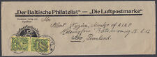 1928 The Baltic Philatelist Wrapper, Riga,Latvia: Abo, Finland; Der Baltische P'