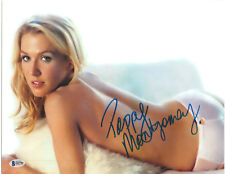 POPPY MONTGOMERY SIGNED 11X14 PHOTO WITHOUT TRACE BECKETT BAS AUTOGRAPH AUTO A