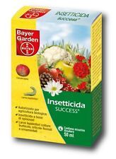 INSETTICIDA BIOLOGICO BAYER SUCCESS 50ML LEPIDOTTERI METCALFA PIRALIDE DEL BOSSO