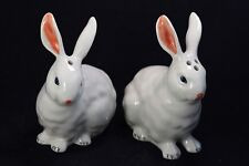 Bunny SALT&PEPPER SHAKERS Collectibles Kitchen Home Figurals rabbit Animals