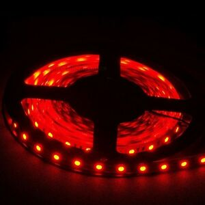 5M 16.4FT 5050 Bright Plasma Red SMD 300 LEDs Waterproof Flexible Strip Light
