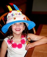 Happy Birthday Cake Candle Funny Hat Party Costume H01