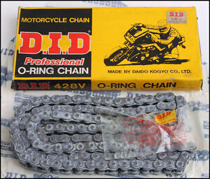 DID Kette 428 V 128 Motorradkette Chain D.I.D. NEU