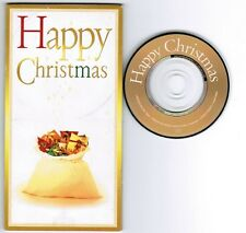 """CYNDI LAUPER,etc Happy Christmas JAPAN PROMO-ONLY 3tk 3""""CD TODD-90306 UNSNAPPED"""