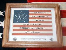 38 Star American Flag....President William McKinley Campaign Flag
