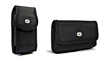 Heavy Duty Samsung Galaxy S3 S4 Pouch Case w/ Holster Clip, work w/otterbox case