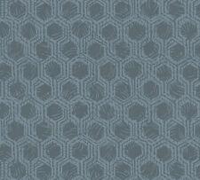 Rasch Textil Jaipur 227818 Tapete Vlies Ornamente Struktur blau gold Glitzer