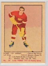 Ted Lindsay 1951-52 Parkhurst Detroit Red Wings REPRINT ROOKIE Hockey Card #56