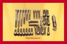 Suzuki GSXR 1100 stainless steel bolt kit screw-set motor engine cover GSXR1100