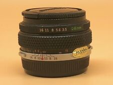 Olympus OM 28mm f3.5 Prime Lens