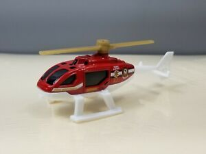 Matchobox MBX Rescue Helicopter Fire & EMS 1:64 Scale Diecast Toy Mattel