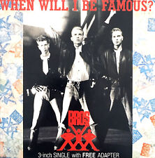 "Bros Maxi CD 3"" When Will I Be Famous? - Europe (EX+/EX+)"