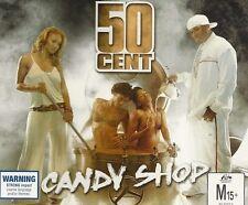 50 Cent Candy Shop CD Single Rare 2005 Eminem Disco Inferno G-Unit The Massacre