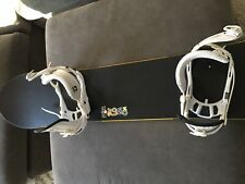 New listing Solomon Snowboard With Union Bindings