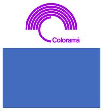 Colorama CHROMA BLUE Background Paper Roll 2.72m x 11m