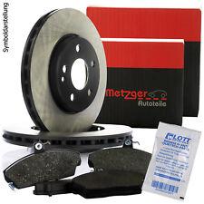 2 METZGER Bremsscheiben 288mm + Beläge Vorne für VW Golf 5 (1K1) 6 (5K1) + Kombi