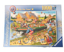 Ravensburger - 1000 PIECE JIGSAW PUZZLE - By The Canal (Sealed)