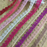 15 Yards Vintage Cotton Flowers lace Crochet Trim Wedding Bridal Ribbon Sewing