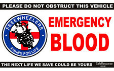 Freewheelers sangue BIKES bloodrunner DASH CARD finestra segno