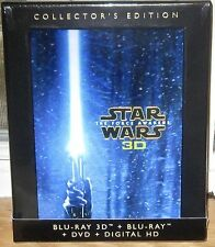 Star Wars: The Force Awakens Collector's Edition 3D + Blu-Ray + DVD All Region