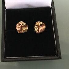 9ct Gold Women's Earrings Lovely detail & design