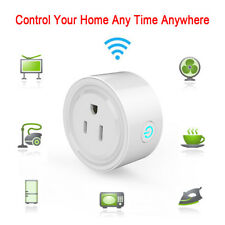 AC Smart Plug WiFi Outlet Works w/ Alexa Remote Control Socket Smartphone App