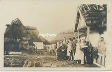 Foto Westgalizien polnisches Bauerndorf-Bevölkerung  1.WK (h899)