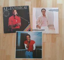 Lot 3 Vinyles Al Jarreau Breakin' away - Look To The Rainbow - Live  2xLP