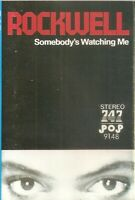 Rockwell .. Somebody's Watching Me. Import Cassette Tape