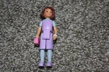 Sweet Streets Fisher Price School Bus Girl Purple Brown Hair Doll Toy RARE VHTF