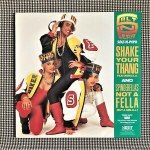 "Salt-N-Pepa –Shake Your Thang / Spinderella's Not A Fella (But A Girl DJ) 12"""