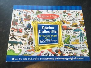 Melissa & Doug Sticker Collection - Blue 14246