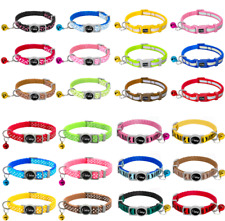6pcs/lot Wholesale Cat Breakaway Collars Safety Quick Release Buckle 4 Patterns