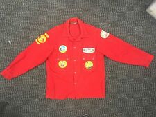 Vintage Official Red Boy Scout Jacket, Size 44, Loaded w/ Patches