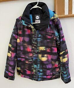 ROXY Snowboarding Ski Jacket Coat Winter Skiing Size Med / Multicolored