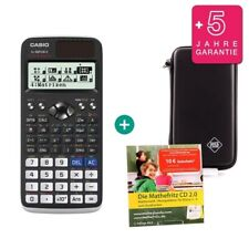 Casio fx 991 de x calculadora + funda protectora de aprendizaje CD de garantía