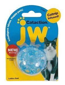 JW Pet Cataction Lattice Ball Random Colors
