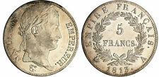NAPOLEON BONAPARTE PREMIER EMPIRE 5 FRANCS 1813 A PARIS